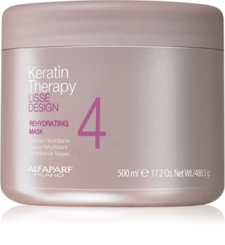 Alfaparf Lisse Design Keratin Therapy Rehydrating Mask 500ml