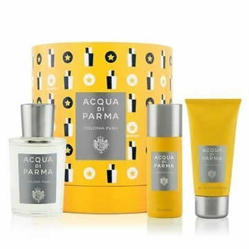 Acqua Di Parma Colonia Pura Giftset 225ml EDC Spray 100ml/Shower Gel 75/Deodorant Spray 50