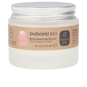 Babaria Bio Rejuvenating Night Cream 50ml Detox 50ml
