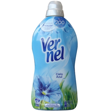 Vernel Concentrated Softener 1,140 L Blue Sky