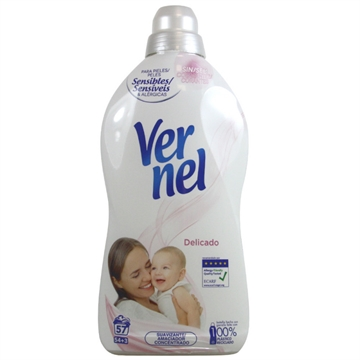 Vernel Concentrated Softener 1,140 L Delicate
