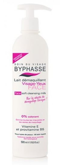 Byphasse Cleansing Milk 500 ml Face & Eyes All Skin Types