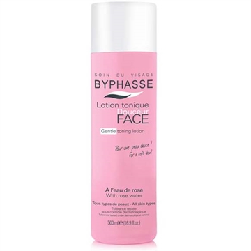 Byphasse Facial Tonique 500ml Water Roses All Skin Types