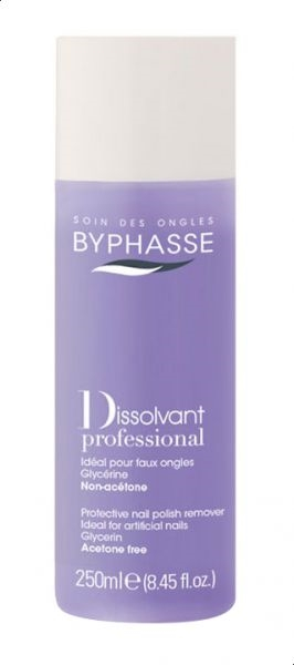 Byphasse Nail Polish Remover 250 ml Professional Acetone Free