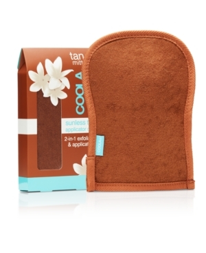 Coola Tan Sunless Tan Applicator Mitt 1stuk 2-In-1 Exfoliator & Applicator