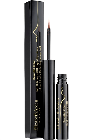 Elizabeth Arden Beautiful Color Bold Defining 24Hr Liquid Eye Liner 1.7ml Gilded Brown Nr.02