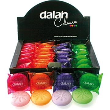 Soap Dalan 40G Colours In Display