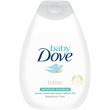 Dove Baby Body Lotion 400ml Sensitive Fragance Free