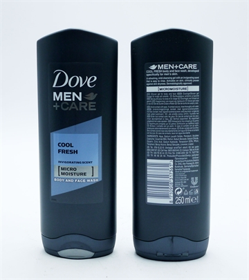 Dove Body Wash Men Cool Fresh 250ml