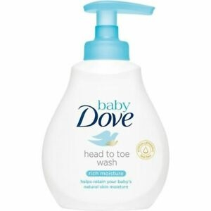 Baby Dove Head To Toe Wash Rich 200ml