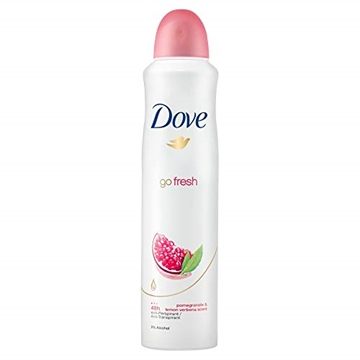 Dove Women Antiperspirant Aerosol Deodorant Go Fresh Pomegranate 250ml