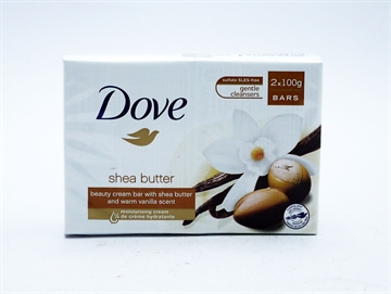 Dove Soap Bar Shea Butter 2Pk 100Gm
