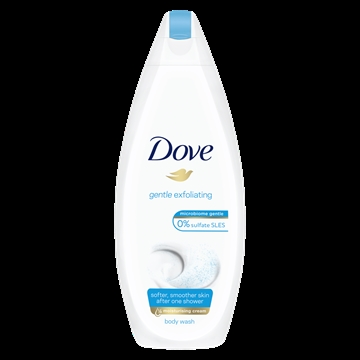 DOVE BODYWASH GENTLE EXFOLIATE 225ML