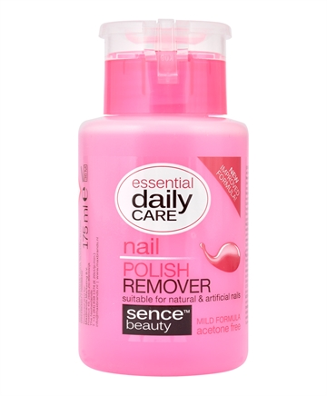 Sence Beauty Care Nail Polish Remover Acetone free 175 ml