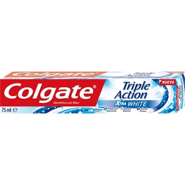 Colgate Toothpaste Triple Action Xtra Bleach 75ml