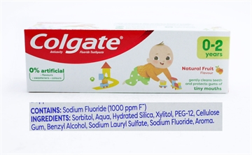 Colgate Tandkräm Kids Mild Fruit 0-2Yrs 50ml
