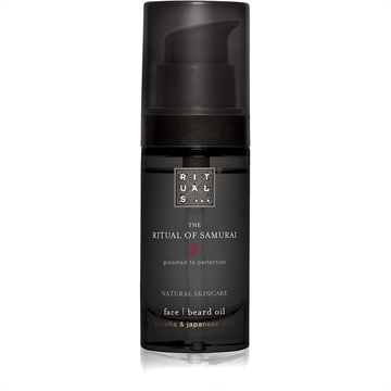 Rituals Samurai Face Beard Oil 30ml Sencha & Japanese Mint