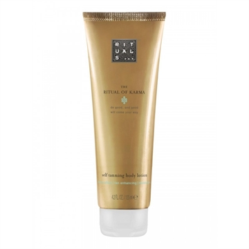 Rituals Karma Self Tanning Body Lotion 125ml Bronze Effect/ Tan Enhancing/ Moisturising