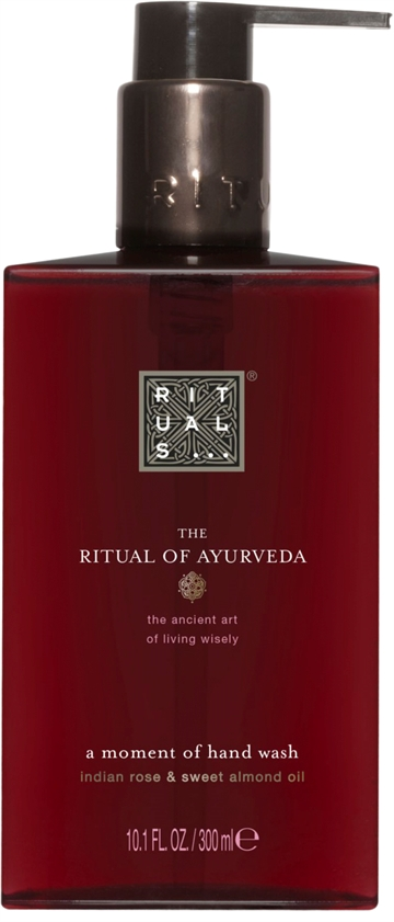 Rituals Ayurveda A Moment Of Hand Wash 300ml Indian Rose & Sweet Almond Oil
