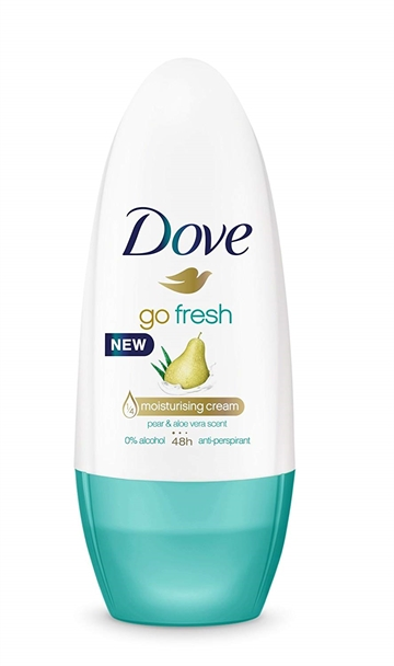 DOVE ROLL ON DEODORANT PEAR 50ML