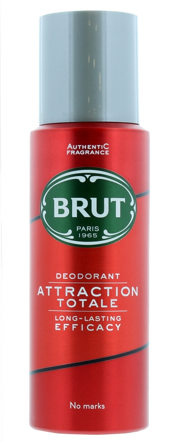 Brut 200ml Deodorant Spray Attraction Totale