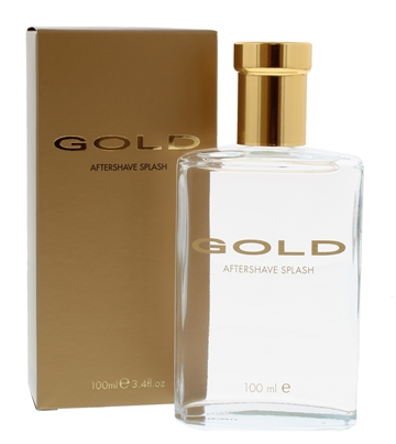 Gold 100ml Aftershave Splash