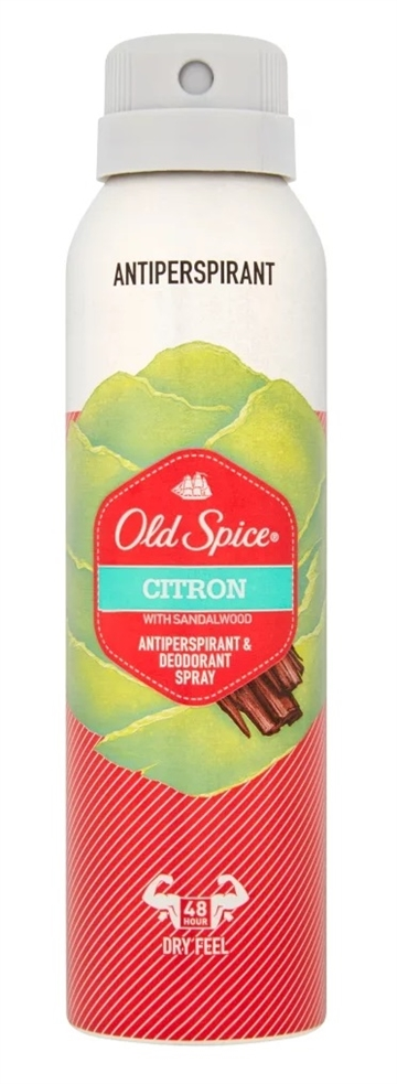 Old Spice 150ml Antiperspirant Deo Citron