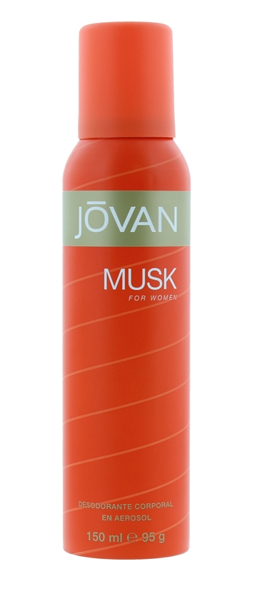 JOVAN DEODORANT BODY SPRAY MUSK WOMEN 150ML