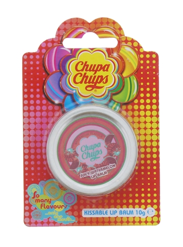 CHUPA CHUPS 10G LIP BALM JUICY WATERMELON TIN