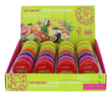 Grace Cole England Lip Balm 12g Assorted