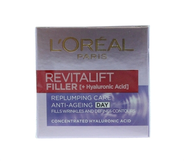 L'OREAL REVITALIFT 50ML FILLER RENEW DAY CREAM REPLUMPING CARE