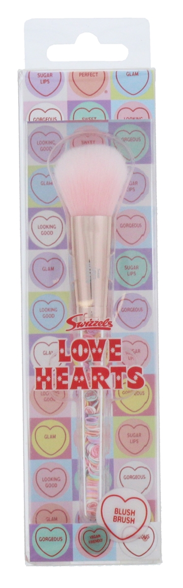 Love Hearts Filled Blusher Brush