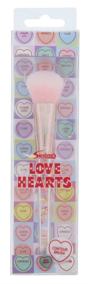 Love Hearts Filled Contour Brush