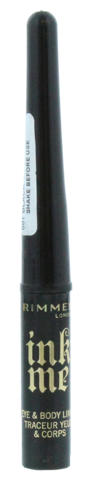 Rimmel Ink Me Eye&Body Liner Black 01
