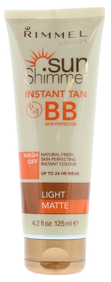 Rimmel Sun Shimmer 125ml Tan BB Light
