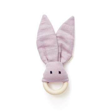 Kids Concept - Bite Ring in Linen - Pink (1000462)