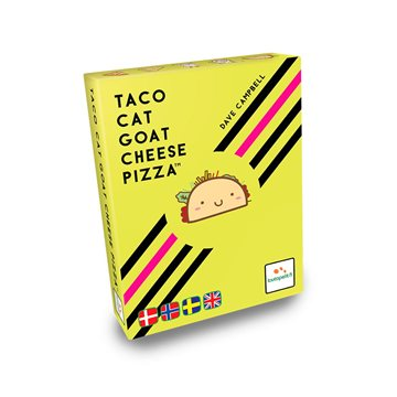 Taco Cat Goat Cheese Pizza - Boardgame (English & Nordic) (SBDK00608)