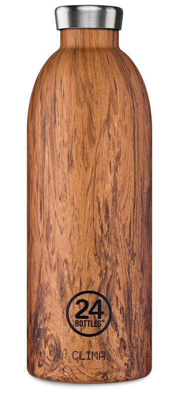 ​24 Bottles - Clima Bottle 0,85 L - Sequoia Wood (24B437)