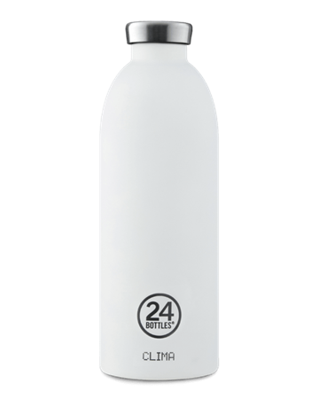 ​24 Bottles - Clima Bottle 0,85 L - Ice White (24B439)