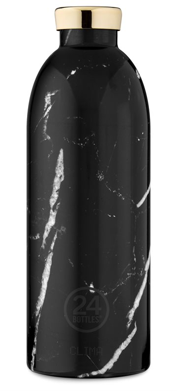 ​24 Bottles - Clima Bottle 0,85 L -  Black Marble (24B434)