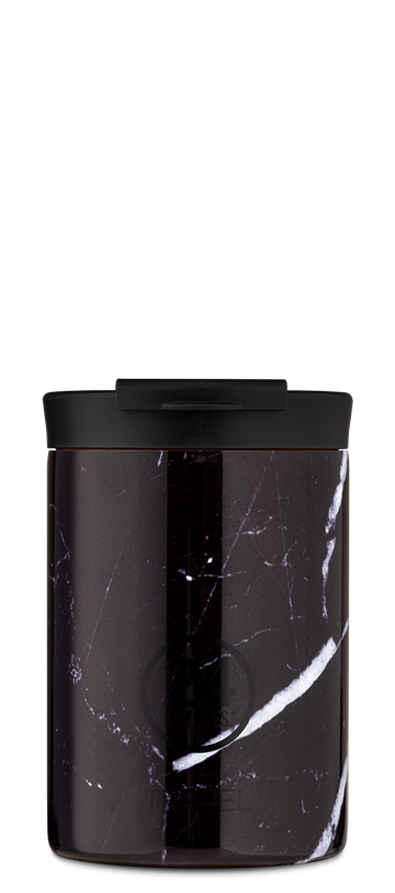 24 Bottles - Travel Tumbler 0,35 L - Black Marble (24B610)
