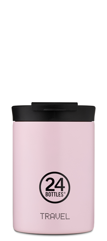 24 Bottles - Travel Tumbler 0,35 L - Candy Pink (24B603)