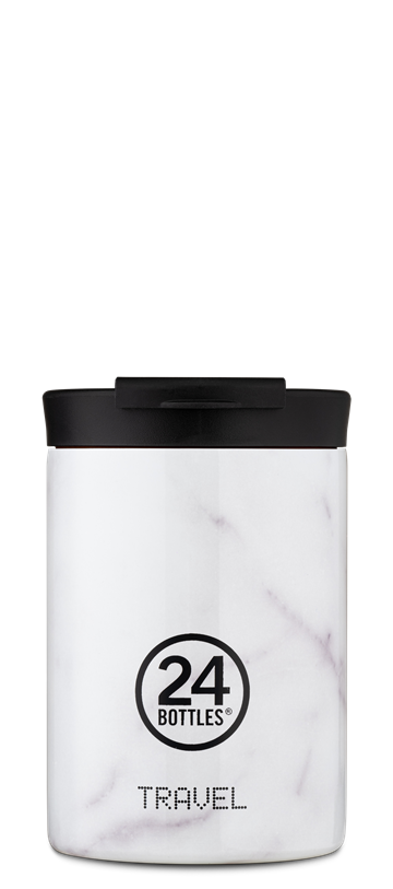 24 Bottles - Travel Tumbler 0,35 L - Carrara (24B611)