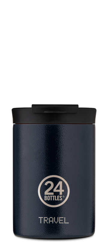 24 Bottles - Travel Tumbler 0,35 L - Deep Blue (24B608)