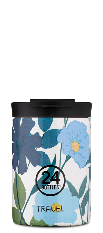 24 Bottles - Travel Tumbler 0,35 L - Morning Glory (24B617)