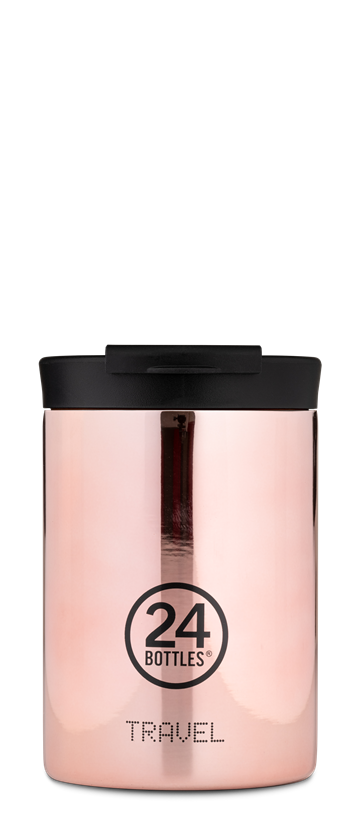 24 Bottles - Travel Tumbler 0,35 L - Rose Gold (24B613)