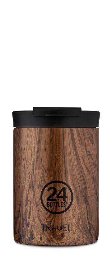 24 Bottles - Travel Tumbler 0,35 L - Sequoia Wood (24B614)