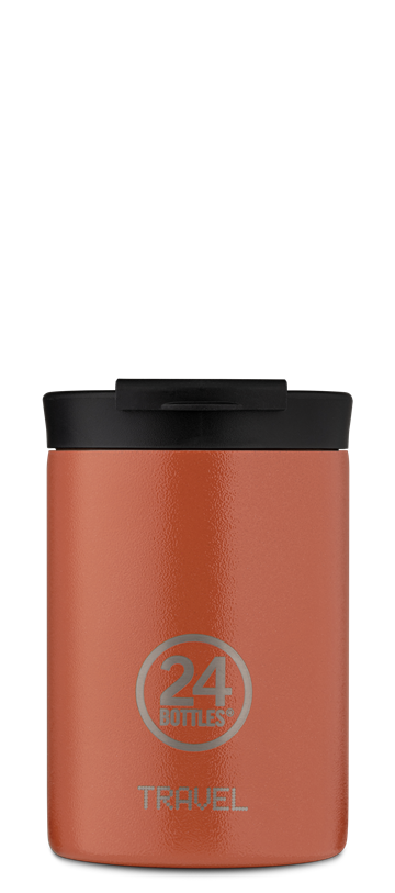 24 Bottles - Travel Tumbler 0,35 L - Sunset Orange (24B607)