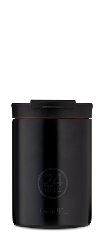 24 Bottles - Travel Tumbler 0,35 L - Tuxedo Black (24B601)