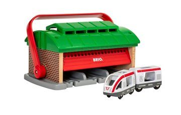 BRIO - Train Garage with Handle (33474)
